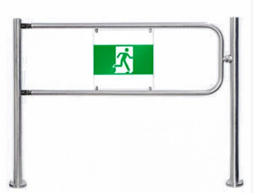 Portillo acceso manual BH02 con electroimán